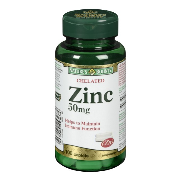 Buy Nature S Bounty Chelated Zinc Same Day Shipping In