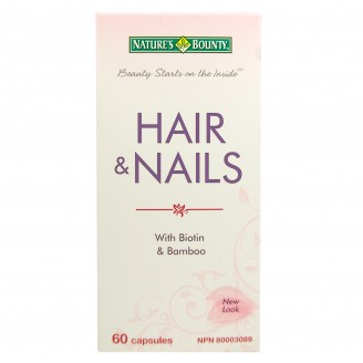 Nature's Bounty Hair and Nails