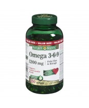Nature's Bounty Omega 3-6-9 Fish, Flax and Borage