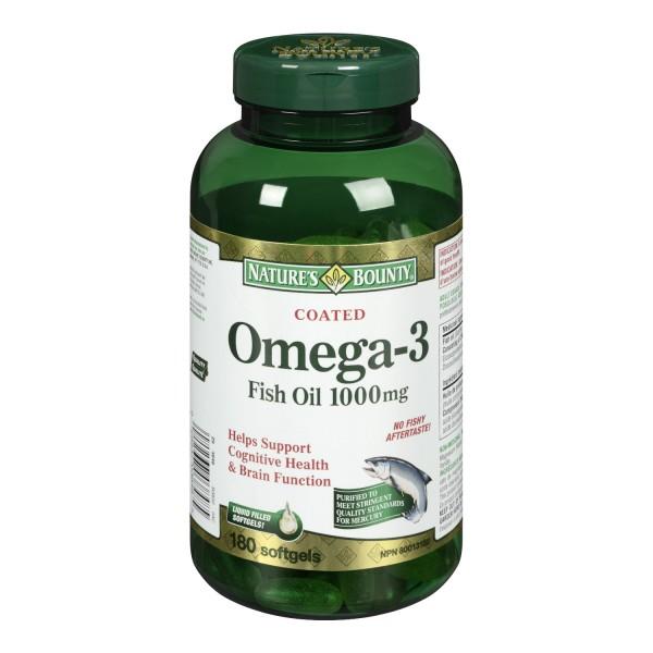 Fish Oil Omega  Nature S Bounty