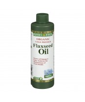 Nature's Bounty Organic Cold Pressed Flaxseed Oil Liquid