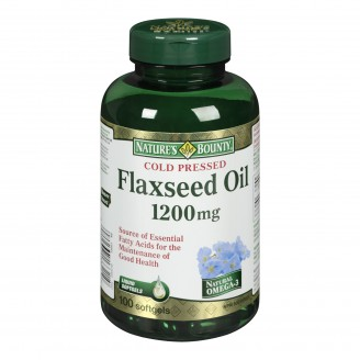 Nature's Bounty Organic Flaxseed Oil
