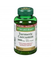 Nature's Bounty Turmeric Curcumin plus Black Pepper Pills Supplement