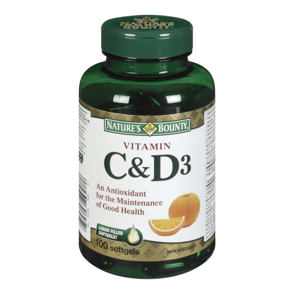 Nature S Bounty Vitamin D Ingredients