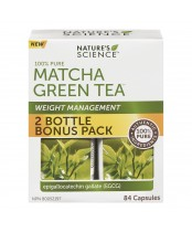 Nature's Science Weight Management Matcha Green Tea 2 Bottle Bonus Pack