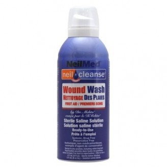 NeilMed NeilCleanse Wound Wash Sterile Saline Solution