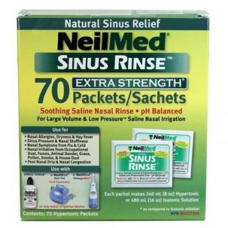 NeilMed Sinus Rinse Saline Nasal Rinse