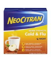 NeoCitran Cold & Flu Night Relief Powder
