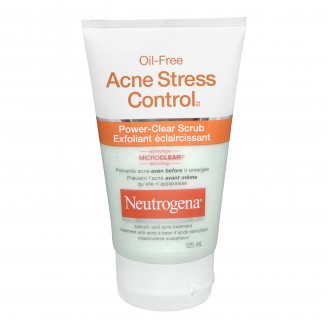 Neutrogena Oil-Free Stress Control Power-Clear Scrub