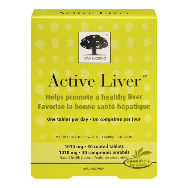Buy New Nordic Active Liver Tablets In Canada Free
