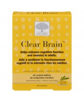 New Nordic Clear Brain Cognitive Health & Memory Supplement with Green Tea and Walnut