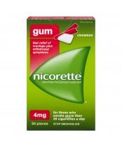 Nicorette Cinnamon Gum