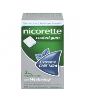 Nicorette Coated Gum With Menthol
