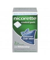 Nicorette Coated Gum With Menthol