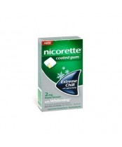 Nicorette Coated Gum with Whitening