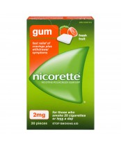 Nicorette Fresh Fruit Gum 2mg