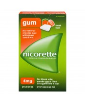 Nicorette Fresh Fruit Gum 4mg