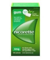 Nicorette Ultra Fresh Mint Gum