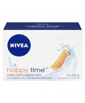 Nivea Happy Time Care Soap Bamboo Milk