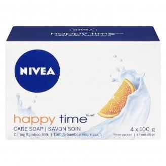 Nivea Happy Time Care Soap Bamboo Milk