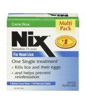 Nix Creme Rinse and Nit Removal Comb Value Pack