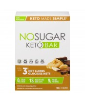 No Sugar Keto Bar Chocolate Peanut Butter