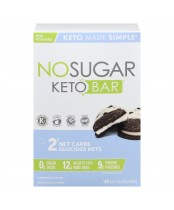 No Sugar Keto Bar Cookies and Cream