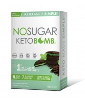 No Sugar Keto Bomb Dark Chocolate Mint