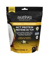 Nutiva Organic MCT Protein Plant-Based Shake Vanilla Flavour