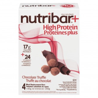 Nutribar High Protein Meal Replacement Bars Chocolate Truffle