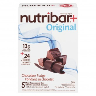 Nutribar Meal Replacement Bars Chocolate Fudge