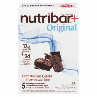 Nutribar Meal Replacement Bars Deep Brownie Delight