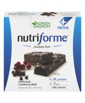 Nutriforme Chocolate Cranberry Melt Protein Bar