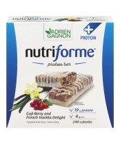Nutriforme Goji Berry and French Vanlla Delight Protein Bar