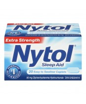 Nytol Extra Strength Easy to Swallow Sleep Aid Caplets