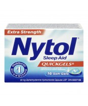 Nytol Extra Strength Sleep Aid Quickgels