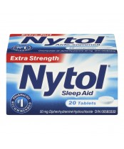 Nytol Extra Strength Sleep Aid Tablets