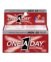 One A Day Specially Formulated For Men 50 Plus Advanced Multi-Vitamin