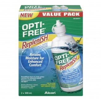 Opti-Free Replenish Multi-Purpose Disinfecting Lens Solution