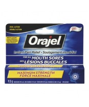 Orajel Maximum Strength Mouth Sore Gel