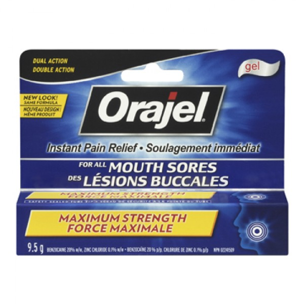 Buy Orajel Maximum Strength Mouth Sore Gel In Canada