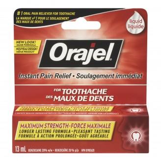 Orajel Maximum Strength Toothache Pain Relief Liquid
