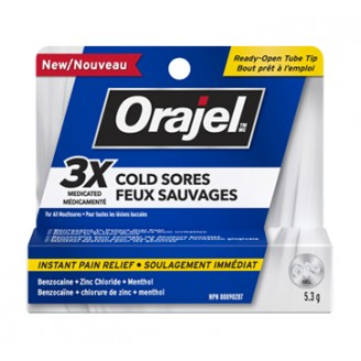 Orajel Medicated Treatment for Cold Sores