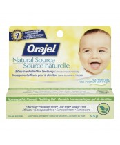 Orajel Natural Source Homeopathic Teething Gel