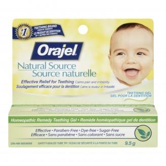 Orajel Natural Source Homeopathic Teething Gel