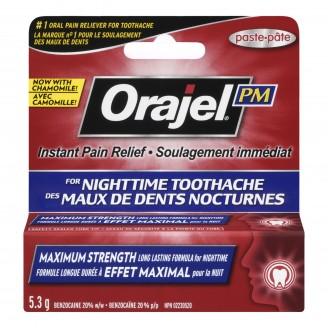 Orajel Toothache Relief Nighttime Formula