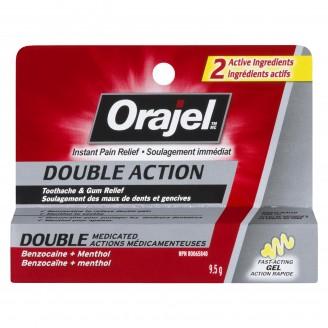 Orajel Double Action Toothache & Gum Relief