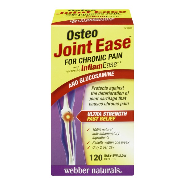 Buy Osteo Joint Ease For Chronic Pain Caplets In Canada