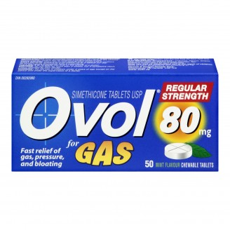 Ovol Gas Regular Strength
