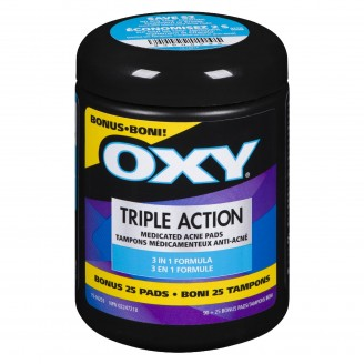 Oxy Triple Action Pads Bonus  90+25